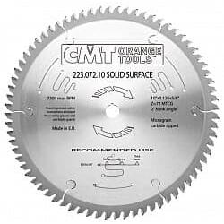 Серия 223 пилы по искусственному камню Corian и монолитным пластикам CMT Дисковые пилы Инструмент