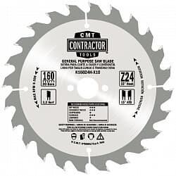 Серия K Contractor комплекты пильных дисков для ремонта и строительства CMT Дисковые пилы Инструмент