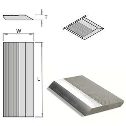 Заготовки HSS для ножей фуговальных с насечкой (рифлями) CMT Фуговальные ножи Ножи