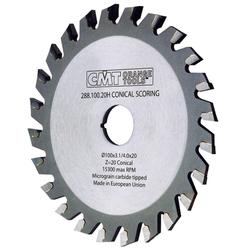 Диск пильный 120x20x3,1-4,0/2,5 5° CO+5°ATB Z=24 CMT 288.120.24H CMT Дисковые пилы Инструмент
