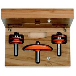 Набор для изготовления кухонной мебели, 3 фрезы CMT Концевые Фрезы по дереву