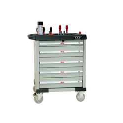 ATIS CT705 Инструментальная тележка 350кг, 5 полок, 800*470*900мм Atis Мебель металлическая Сервисное оборудование