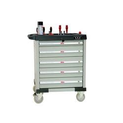 ATIS CT706 Инструментальная тележка 350кг, 6 полок, 800*470*900мм Atis Мебель металлическая Сервисное оборудование